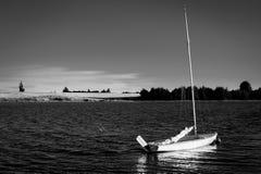 Vista calma nel lago Immagini Stock Libere da Diritti