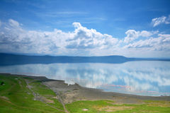 Vista calma no lago Nakuru fotos de stock royalty free