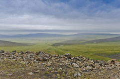 Vista of the Canadian arctic Royalty Free Stock Image