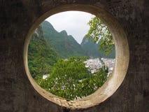 Vista capítulo de China rural Imágenes de archivo libres de regalías
