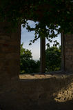 Vista. A Vista in a castle in Germany Royalty Free Stock Photos