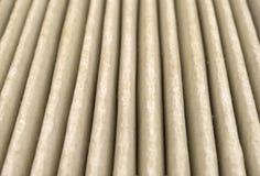 Vista cercana del filtro de aire sucio Imagen de archivo libre de regalías