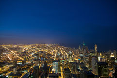 Vista Chicago del Sears Tower Immagine Stock