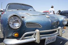 Vista Chula, Καλιφόρνια - 30 Ιουλίου 2017: 19ο ετήσιο Airheads Parts/KGPR Hwy1 σύνορα στα σύνορα Treffen ` Καναδάς στην κρουαζιέρ Στοκ Φωτογραφίες
