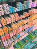 Vista cinese della campagna Fotografia Stock