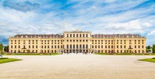 Vista cl?ssica do pal?cio famoso de Schonbrunn, Viena, ?ustria foto de stock