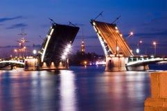 Vista classica da St Petersburg Fotografia Stock