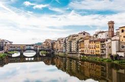 Vista classica della città di Firenze Immagini Stock Libere da Diritti