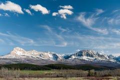 Vista cênico do parque nacional de geleira Imagem de Stock Royalty Free