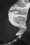 Vista com o infravermelho da escultura Imagens de Stock Royalty Free