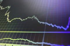Vista conceptual del mercado de divisas fotos de archivo libres de regalías