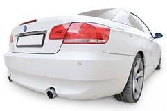 Vista convertibile dell'angolo della parte posteriore dell'automobile di BMW 335i Fotografia Stock