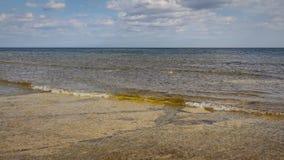Vista costiera della Ã-terra di Kalkenshällar fotografia stock
