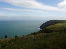Vista costiera inglese Fotografie Stock Libere da Diritti