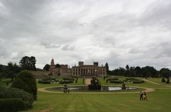 Vista of country house england Royalty Free Stock Image
