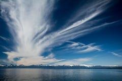 Vista d'Alasca Fotografie Stock Libere da Diritti