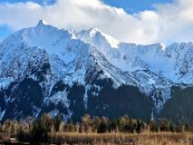 Vista d'Alasca scenica fotografia stock libera da diritti