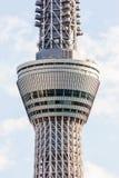 Vista da árvore do céu do Tóquio Imagem de Stock