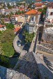 Vista da égua do forte em Herceg Novi, Montenegro Foto de Stock Royalty Free