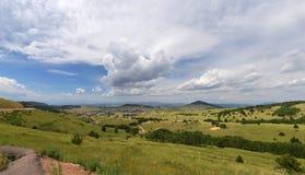 Vista da angra do aleijado em Colorado Foto de Stock