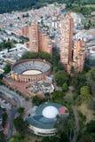 Vista da arena da tourada Imagens de Stock Royalty Free