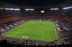 Vista da arena de Donbass do estádio Fotografia de Stock
