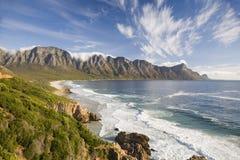 Vista da baía e das montanhas de Kogel Foto de Stock Royalty Free