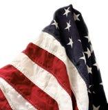 Vista da bandeira velha Imagens de Stock Royalty Free