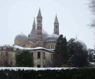 Vista da basílica del Santo em Pádua Foto de Stock