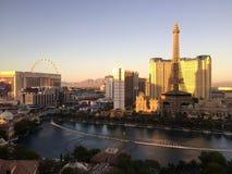 Vista da Bellagio al crepuscolo Fotografia Stock Libera da Diritti