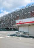 Vista da bilheteira nova do estádio de futebol de Pierre Mauroy Imagens de Stock Royalty Free