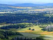 Vista da Brian Head Peak nell'Utah Immagini Stock Libere da Diritti