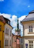 Vista da câmara municipal em Olomouc, República Checa Imagem de Stock Royalty Free