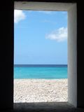 Vista da cabana do escravo Imagem de Stock Royalty Free