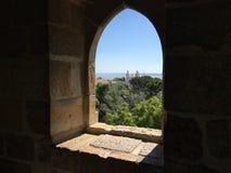 Vista da Castelo de S jorge Fotografie Stock Libere da Diritti