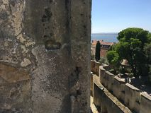 Vista da Castelo de S jorge Fotografie Stock