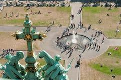 Vista da catedral de Berlim Fotografia de Stock Royalty Free