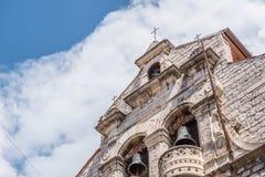 Vista da catedral de St James em Sibenik, local do patrimônio mundial do UNESCO na Croácia Sibenik, a catedral, Croácia Foto de Stock