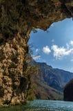 Vista da caverna imagens de stock royalty free