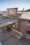 Vista da chita, Califórnia, San Bernardino County Fotografia de Stock