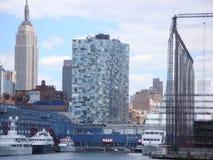 Vista da cidade Imagem de Stock