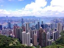 Vista da cidade foto de stock royalty free