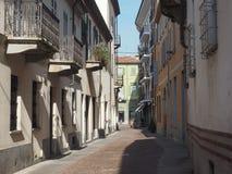 Vista da cidade de alba imagem de stock royalty free