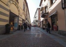 Vista da cidade de alba imagem de stock