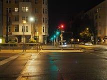 Vista da cidade de Berlim fotografia de stock