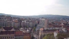Vista da cidade de Budapest vídeos de arquivo