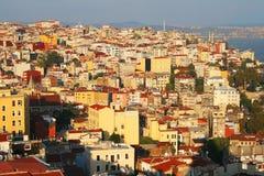 Vista da cidade de Istambul, Turquia Foto de Stock Royalty Free