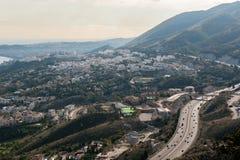 Vista da cidade de Malaga, a Andaluzia Imagem de Stock Royalty Free