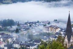 Vista da cidade de Matrei Imagem de Stock Royalty Free