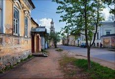 Vista da cidade de Rostov Rússia fotografia de stock